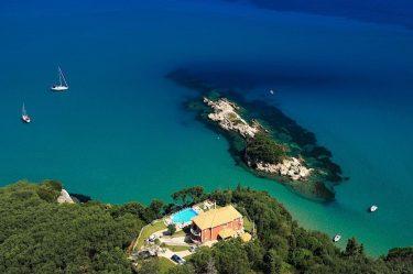 St. Nicholas beach house Villas & Yachts in Corfu