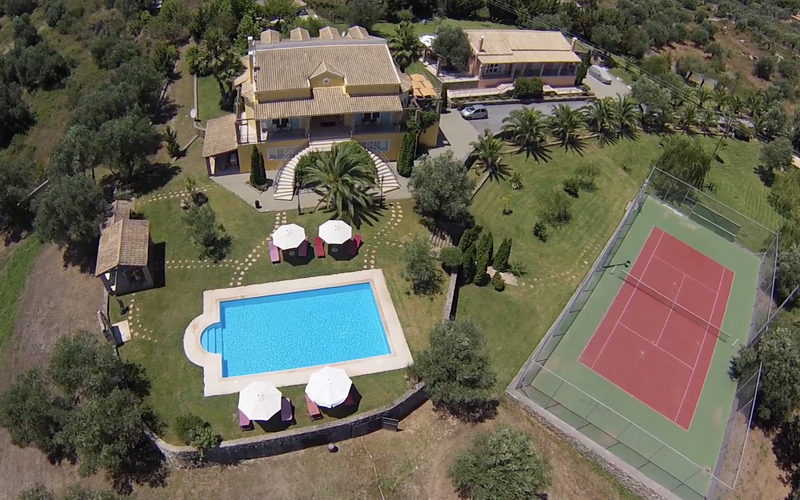 Imperial estate villa - villas in corfu