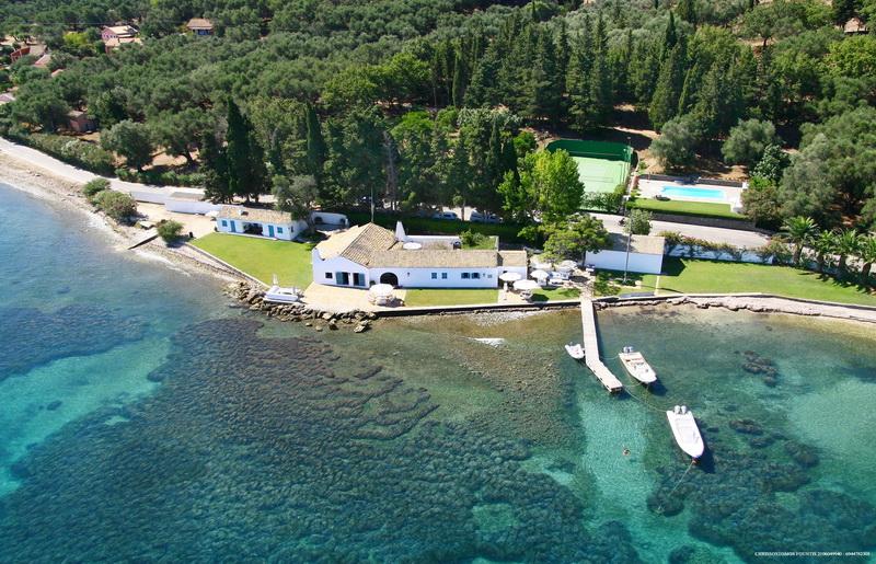 Boukari beach estate in Corfu
